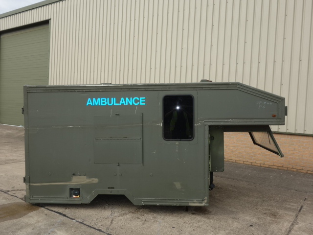 Marshalls Land Rover 130 Ambulance Body - ex military vehicles for sale, mod surplus