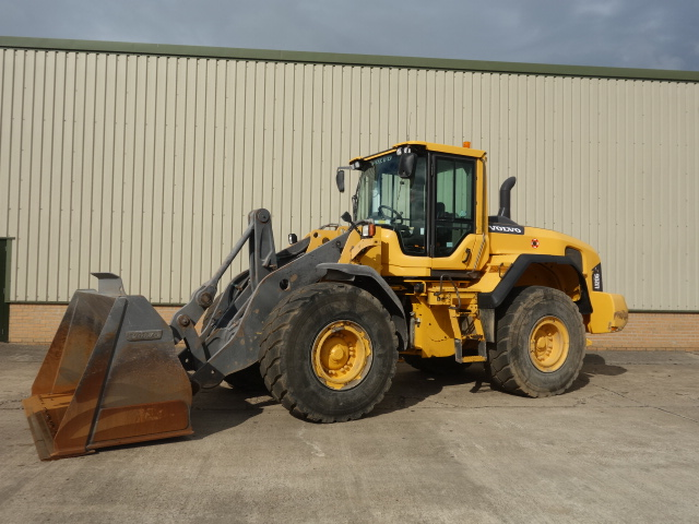 Volvo L120G Wheeled Loader - ex military vehicles for sale, mod surplus
