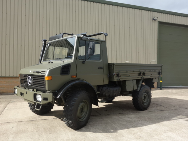 Mercedes Unimog U1300L Turbo  - ex military vehicles for sale, mod surplus
