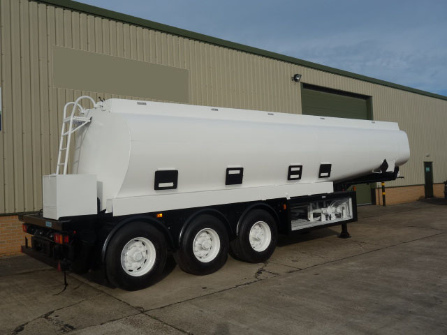 military vehicles for sale - Thompson 32,000 Litre Fuel Tanker Trailer