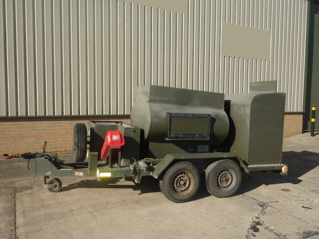 MoD Surplus, ex army military vehicles for sale - Ex Military Fluid Transfer 1000 Litre Drawbar Tanker Trailer