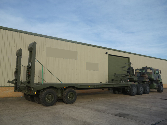 military vehicles for sale - Broshuis Low Loader Trailer