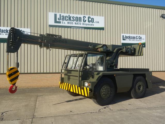 Jones IF8M Crane - ex military vehicles for sale, mod surplus