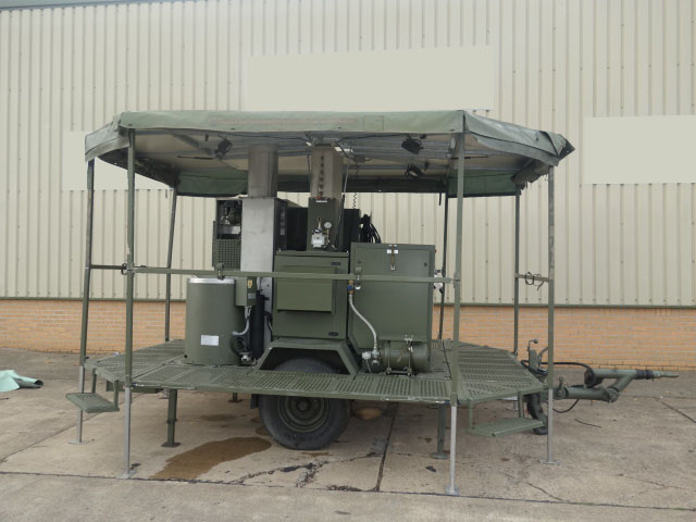 military vehicles for sale - SERT RLS2000 Field Laundry Trailers