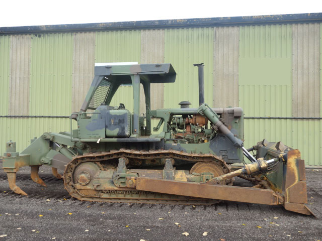 MoD Surplus, ex army military vehicles for sale - Caterpillar D7G Dozer with Ripper