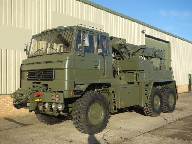 MoD Surplus, ex army military vehicles for sale - Foden 6x6 Recovery Truck