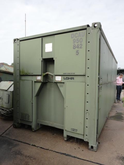 SERT ELC 500 Containerised Kitchen (2 units) - ex military vehicles for sale, mod surplus