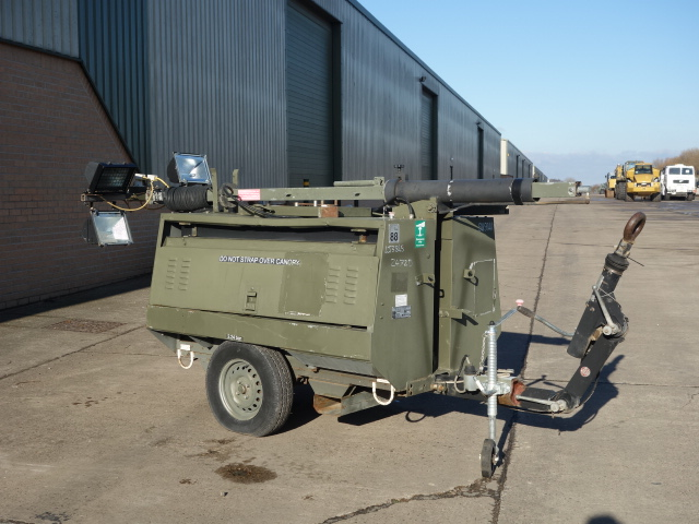 Hylite lighting tower - ex military vehicles for sale, mod surplus