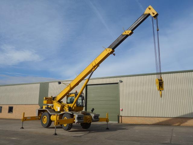 Grove RT 620S crane  - ex military vehicles for sale, mod surplus