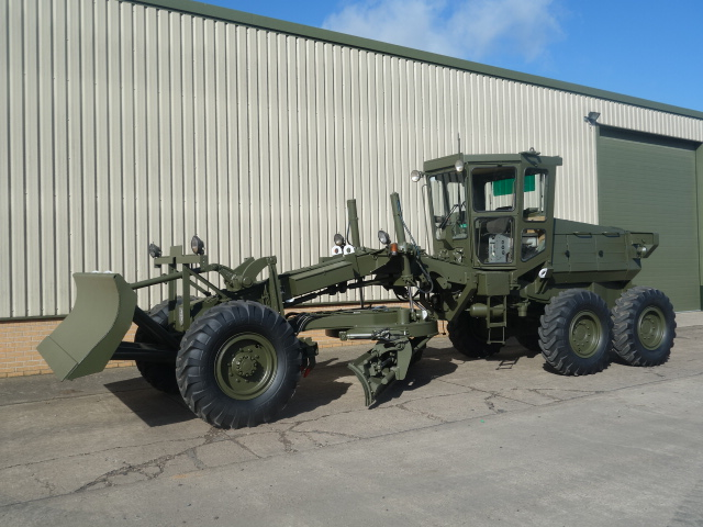 Aveling Barford ASG 113 grader - ex military vehicles for sale, mod surplus