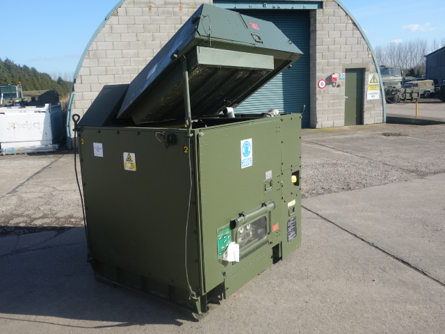 MoD Surplus, ex army military vehicles for sale - Hunting 25 kva generator