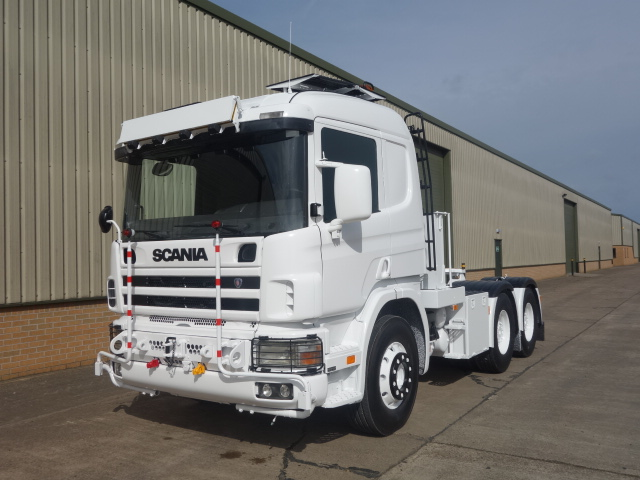 Scania 6x4 LHD tractor unit - ex military vehicles for sale, mod surplus
