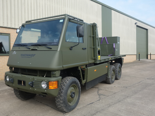 MoD Surplus, ex army military vehicles for sale - Mowag Duro II crane truck