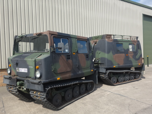 military vehicles for sale - Hagglunds BV206 5 Cyl Diesel Personnel Carrier