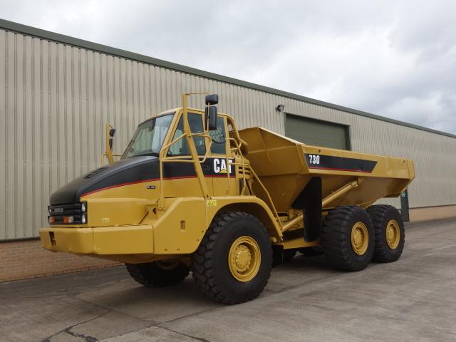 Caterpillar 730 dumper  - ex military vehicles for sale, mod surplus