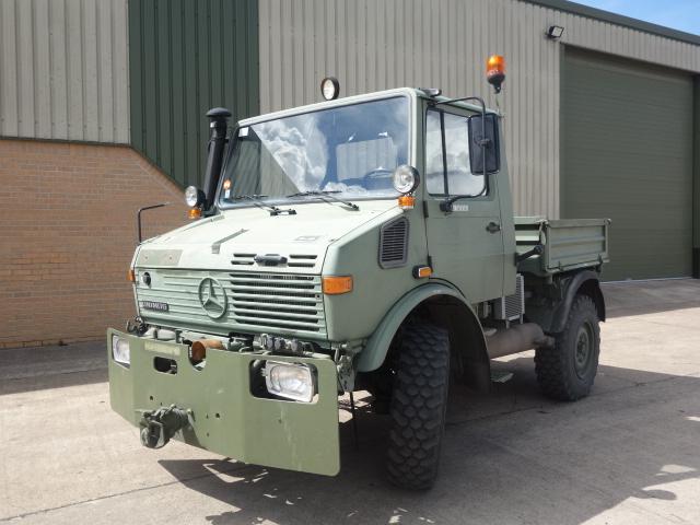 Mercedes Unimog 427/10 - ex military vehicles for sale, mod surplus