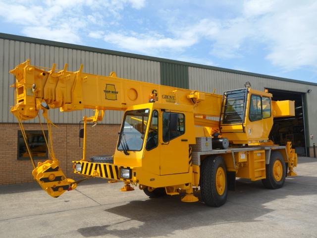 Grove AT635E all terrain crane  - ex military vehicles for sale, mod surplus