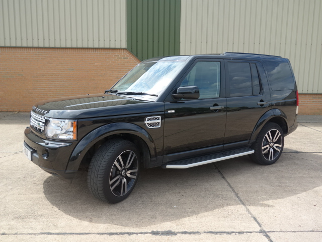 Land Rover Discovery HSE - ex military vehicles for sale, mod surplus