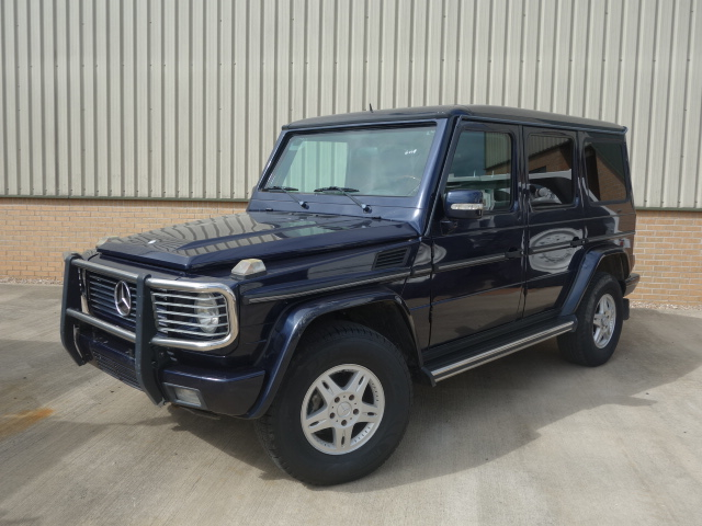 MoD Surplus, ex army military vehicles for sale - Armoured (BULLET PROOF - B6) Mercedes G wagon 500