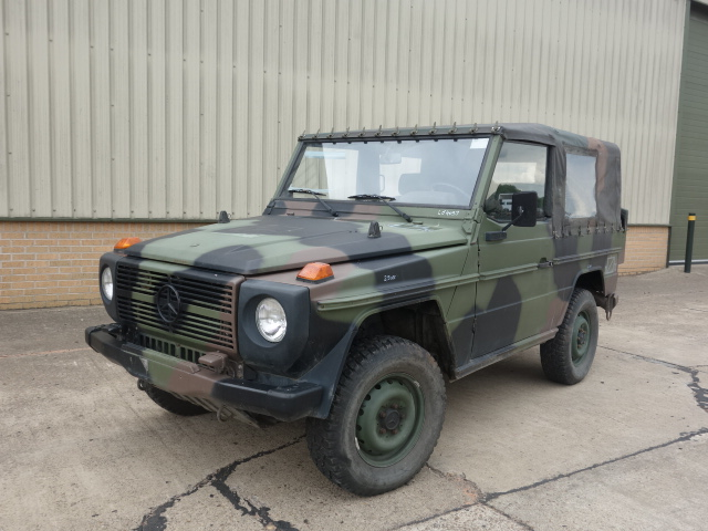 military vehicles for sale - Mercedes Benz 250 G Wagon