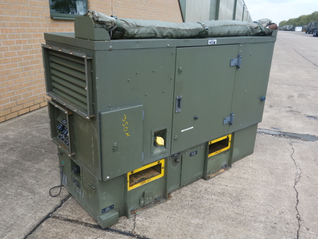 MoD Surplus, ex army military vehicles for sale - Harrington 20kva diesel generator