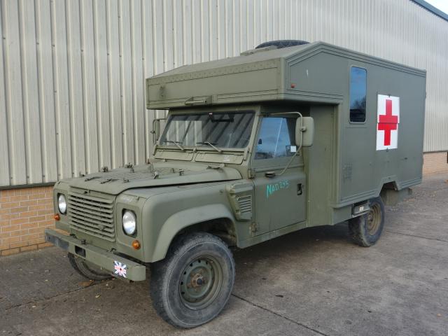 Land Rover 130 Defender Wolf LHD Ambulance