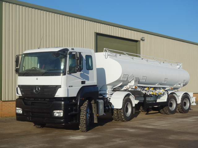 MoD Surplus, ex army military vehicles for sale - Mercedes Axor 8x6 tanker