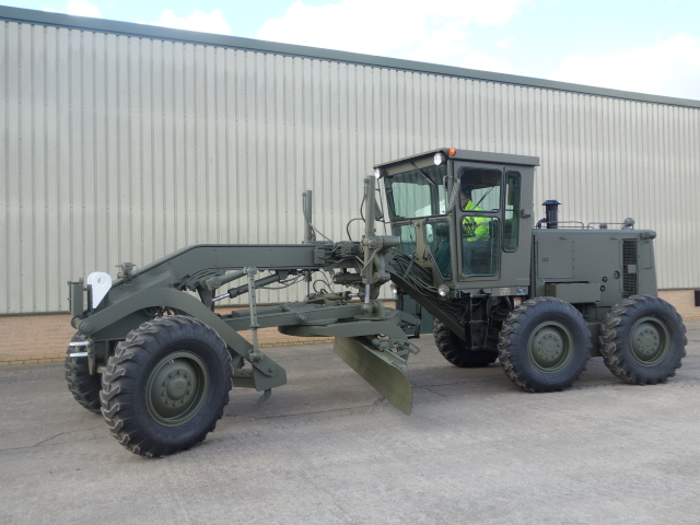 MoD Surplus, ex army military vehicles for sale - Caterpillar 130G Grader