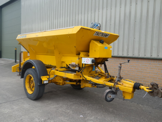 Econ towed gritter trailer - ex military vehicles for sale, mod surplus