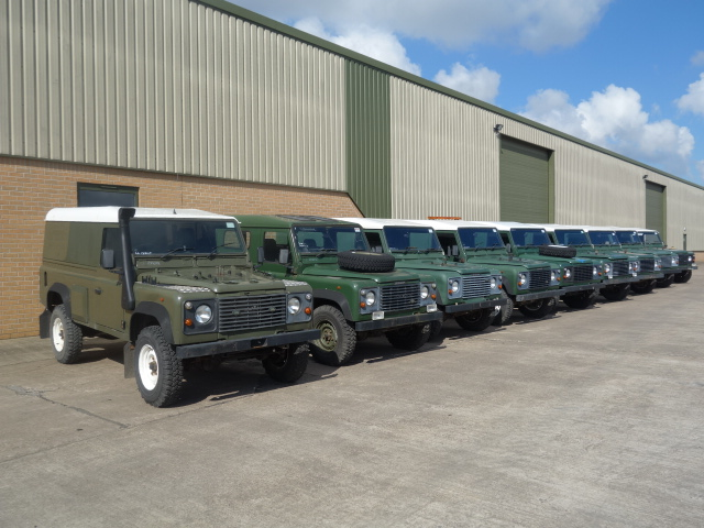 Land Rover Defender 110 300TDi - ex military vehicles for sale, mod surplus