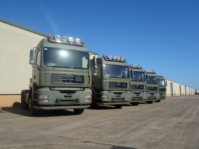 MAN TGA 26.430 6x4 Tractor Units - ex military vehicles for sale, mod surplus
