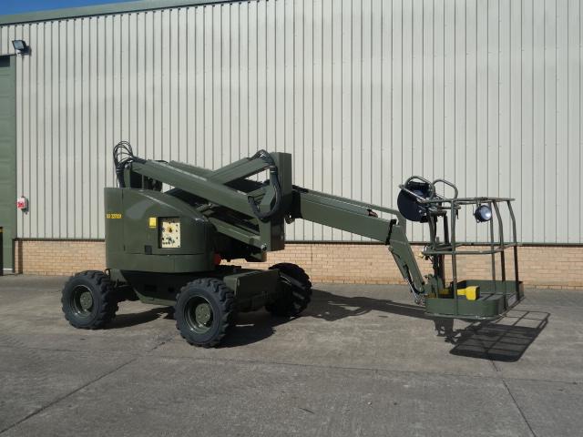 Terex TA50 RT 4X4 boom lift - ex military vehicles for sale, mod surplus
