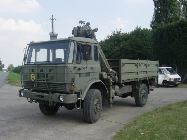 DAF YA4440 4x4 Crane Truck - ex military vehicles for sale, mod surplus