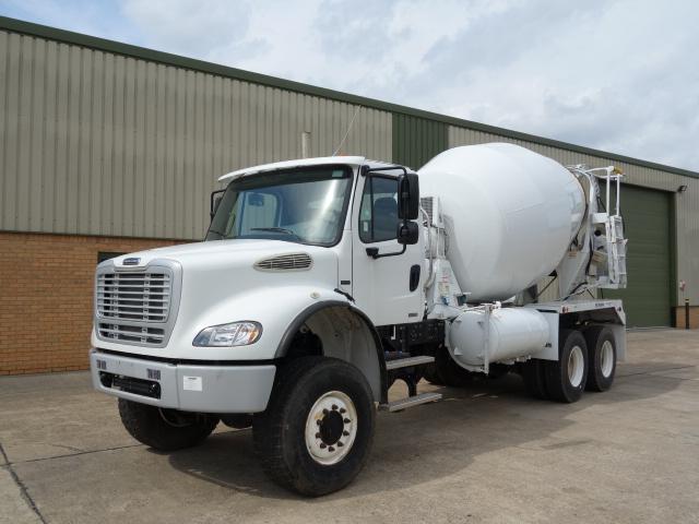 Freightliner 6x6 concrete mixer truck - ex military vehicles for sale, mod surplus