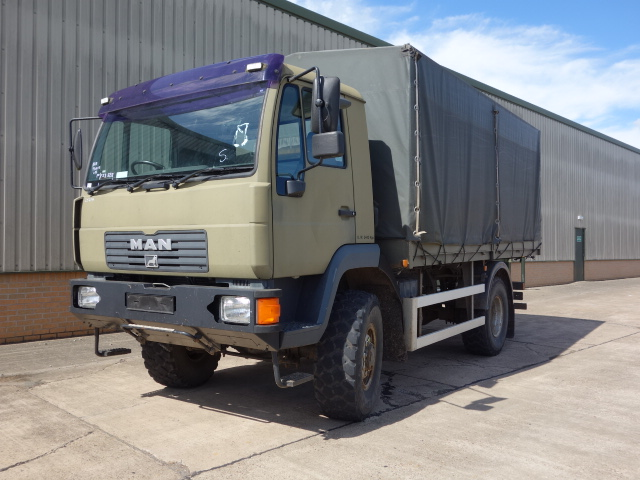 MAN 10.185 4x4 cargo truck - ex military vehicles for sale, mod surplus