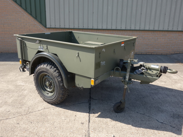 MoD Surplus, ex army military vehicles for sale - Penman drawbar cargo trailer
