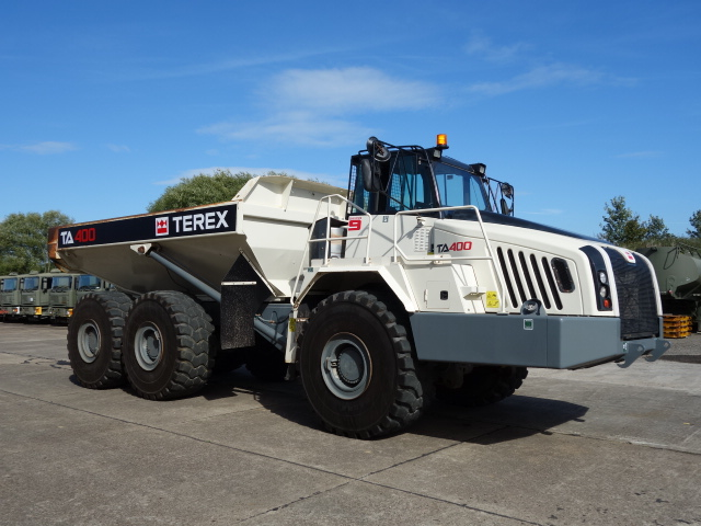 military vehicles for sale - Terex TA400 Dumptrucks (2012)