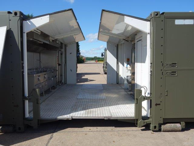 SERT ELC 500 containerised catering / kitchen unit - ex military vehicles for sale, mod surplus
