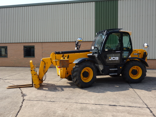 MoD Surplus, ex army military vehicles for sale - JCB 535-140 HI VIZ 2013