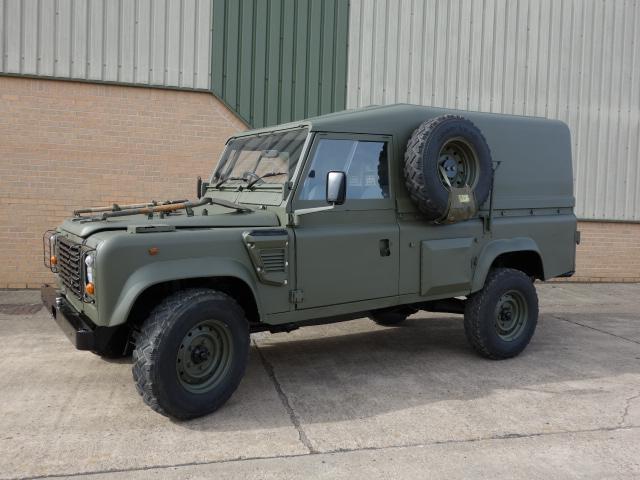 Land Rover 110 Defender Wolf RHD (Remus)  - ex military vehicles for sale, mod surplus
