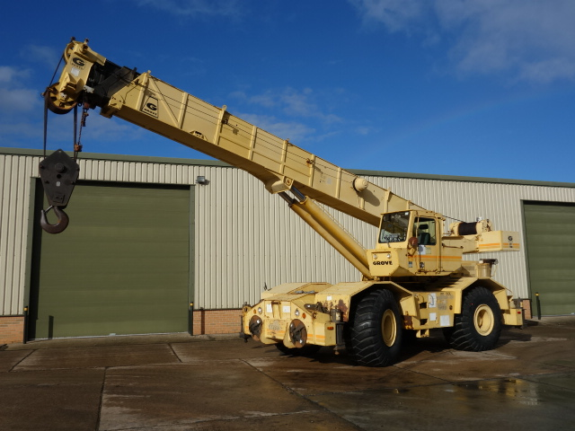 MoD Surplus, ex army military vehicles for sale - Grove RT 760 Rough Terrain Crane