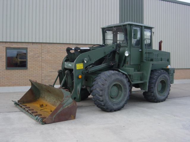 Ahlmann AS12B front end loader - ex military vehicles for sale, mod surplus