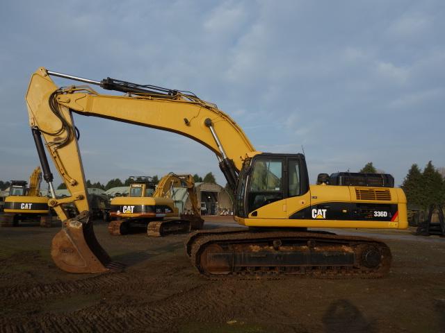 Caterpillar 336DL Excavator - ex military vehicles for sale, mod surplus