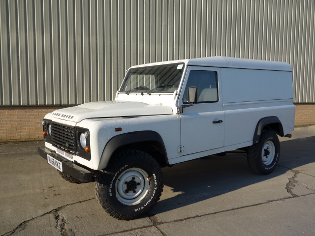 Land Rover Defender 110 RHD Hard Top 2008  - ex military vehicles for sale, mod surplus