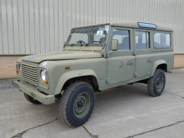 military vehicles for sale - Land Rover Defender 110 RHD Station Wagon