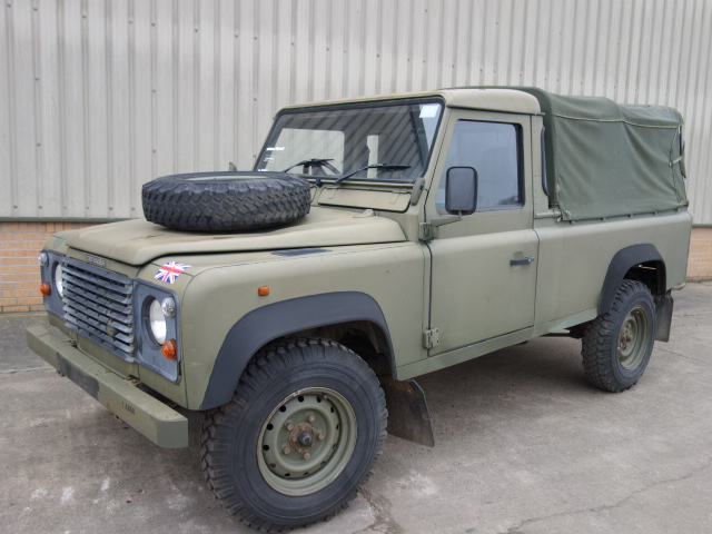 Land Rover Defender 110 300TDi Pickup - ex military vehicles for sale, mod surplus