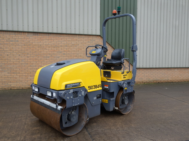 MoD Surplus, ex army military vehicles for sale - Dynapac CC1200 Roller (2014)