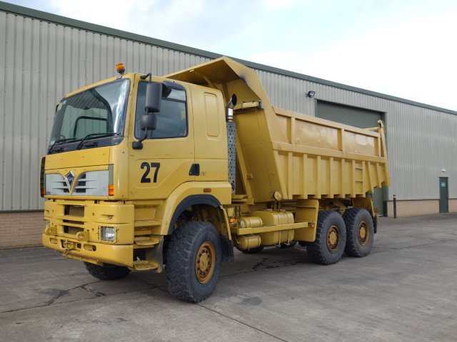 MoD Surplus, ex army military vehicles for sale - Foden 6x6 Dumper