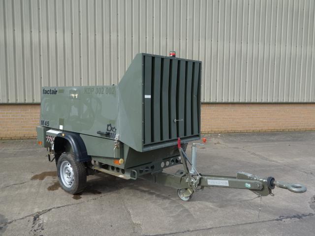Factair General Purpose Air Compressor  - ex military vehicles for sale, mod surplus