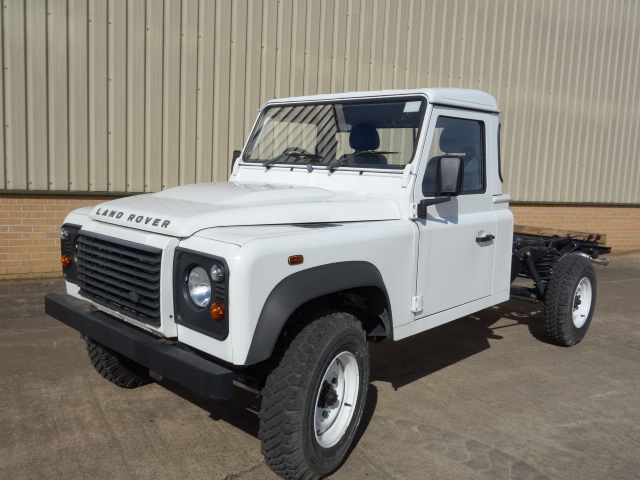 military vehicles for sale - Land Rover 130 RHD chassis cab